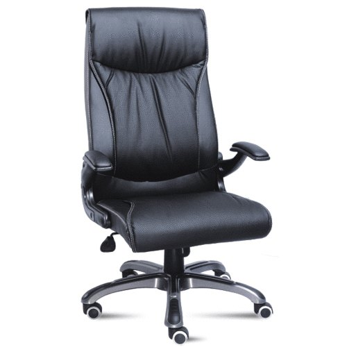 Swell Black Leather Office Chair Creativecarmelina Interior Chair Design Creativecarmelinacom