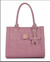 Fostelo Women's Angel Kiss Handbag (Light Pink) (FSB-1200)