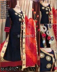Woman Stitched Bb Kurtiz