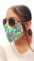 Printed Cotton Covid 19 Face Mask