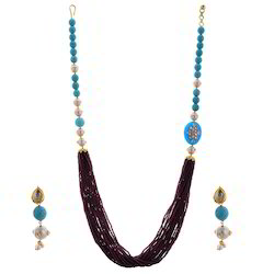 Rajasthani Fashionable  Earrings Necklace Set 236