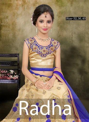 8eeff063b2e Beautiful Embroidered Kid s PartyWear Lehenga Choli - Radha at Rs ...