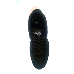 Black Sports Shoes, Size: 6 - 9 And 7 - 10