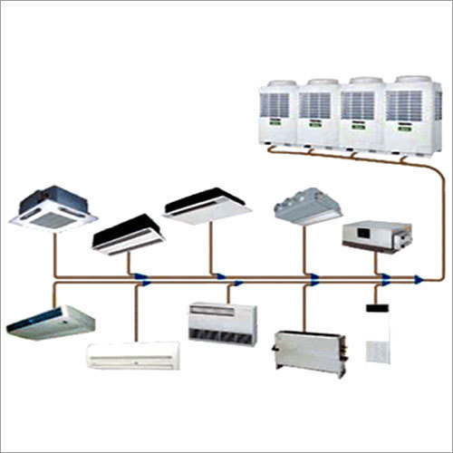 Mitsubishi Vrv Air Conditioner System For Industrial Use