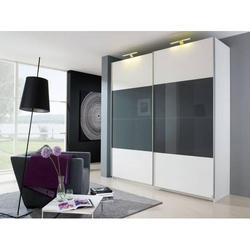 Bedroom Interior Design Black And White Wardrobe Rs 1100 Square Feet Id 18569285697