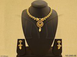 Party Wear Antique Necklace Set Jewellery