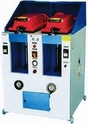 Cover Type Pneumatic Sole Attaching Machine Double Station