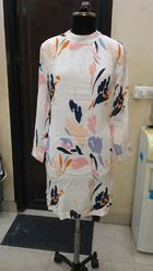 Woman Printed One Piece Dress