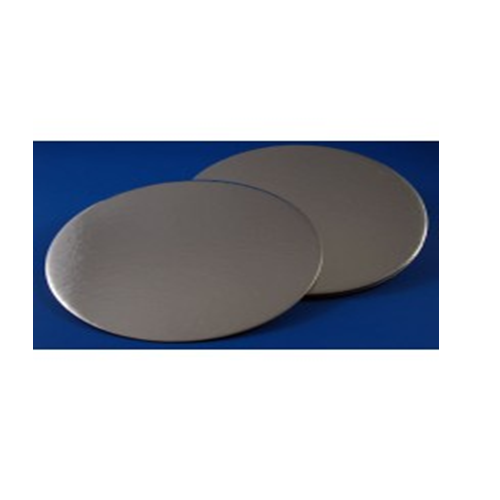 6 Silver Round Coated Cakeboard 12 ct.