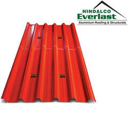 Aluminium Roofing Sheets, Length: 1500 to 6500 mm, Thickness: 0.45 mm