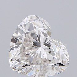 Heart Shape Diamond 2.01ct H SI2 Lab Grown IGI Certified Stone
