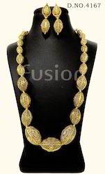 Antique Beaded Necklace Set