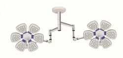 Series 7 - Ceiling Mounted Surgical LED Light, Twin Dome