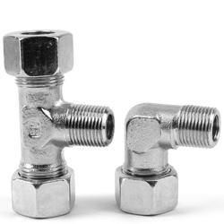 Stainless Steel Ermeto Elbow, Size: 1/4 inch , for Hydraulic Pipe