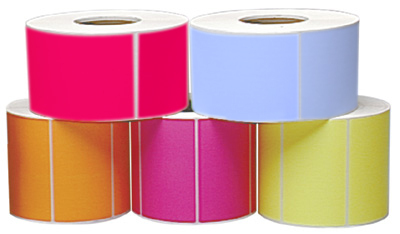 Colored Thermal Labels