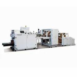 Electric Non Woven D Cut Bag Making Machine