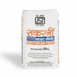 Sakarni White Portland Cement, Packaging Type: PP Sack Bag