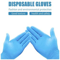 Disposable Latex Medical Examination Gloves