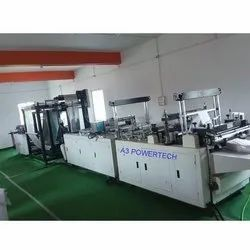 Automatic Non Woven D Cut Shopping Bag Making Machine