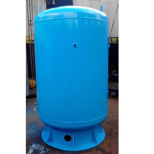 Vertical Compressed Air Receiver Tank