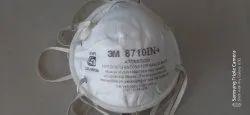 Respiratory White 3M Dust/Mist Respirator 8710IN+ P1 (BIS, EN), For Pharma Industry, Medium