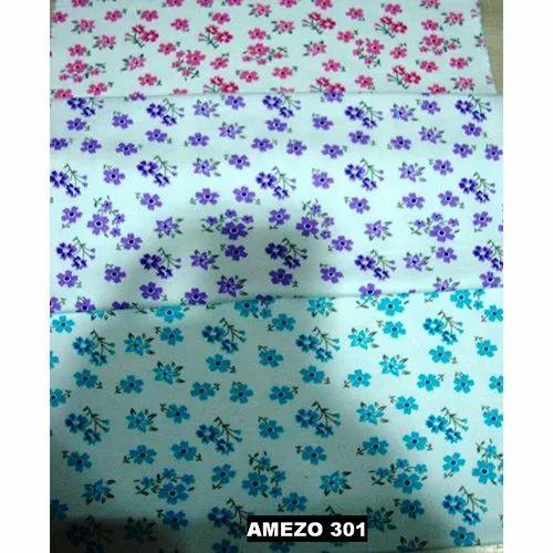 Interlock Printed Hosiery Fabric