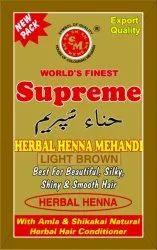 Supreme Light Brown Henna Mehandi