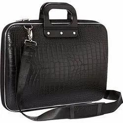 Buyerzone Black Briefcase Laptop Bag