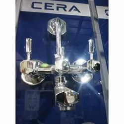 Three Handle Cera 3 in 1 Wall Mixer, For Bathroom Fittings