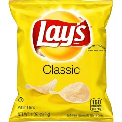PepsiCo Classic Salted Lays Classic Potato Chips, Packaging Type: Packet