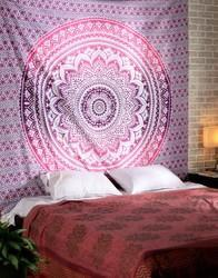 Indian King Ombre Mandala Wall Hanging