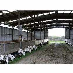 Goat Farm Roofing Shed
