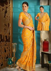 Heavy Silk Bridal Wear Sarees