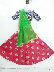Dark Pink Chanya choli, Occasion: Wedding