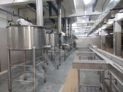 Stainless Steel Industrial Kitchen