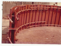 Curved RCC Wall Formwork