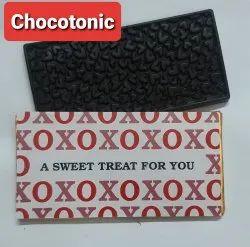 Choco Tonic Brown Handmade Chocolate Bars, 120 G