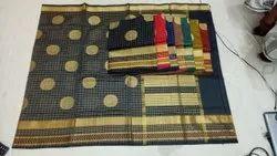 Formal Wear Printed Cotton Silk Saree
