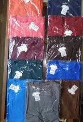Cotton Plain Mens T shirts