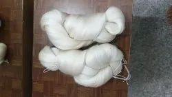 White Plain Pure Raw Silk Yarn