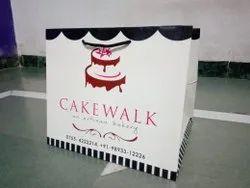 Custom Printed Paper Bag, For Shopping, Capacity: 2kg