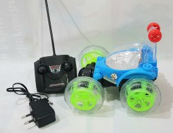 Chargable Plastic Kids Remote Control Car 360 Stunt car Kids Toys