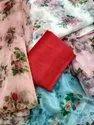 Banglori Silk Multicolor Fancy Organza Saree, 0.8, 5.5 M (separate Blouse Piece)