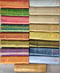 Plain,printed Cottan+jari Erode Zari (Jari) Tissue Fabric