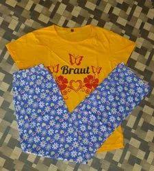 Ladies Printed Pyjamas