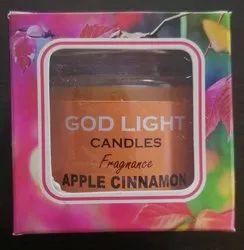 6种颜色可供圆形蜡烛