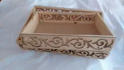 Brown Pinewood Basket, For Household, Size: 9*13' & 10*15
