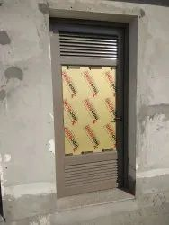 AILLUMINUM DOORS WITH LOUVERS SYSTEM, Size/Dimension: 3 X 7