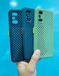 Plastic 4 colour Jali Mobile Cover