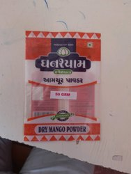 Dray mango powder 50 grm, Packaging Type: Packet